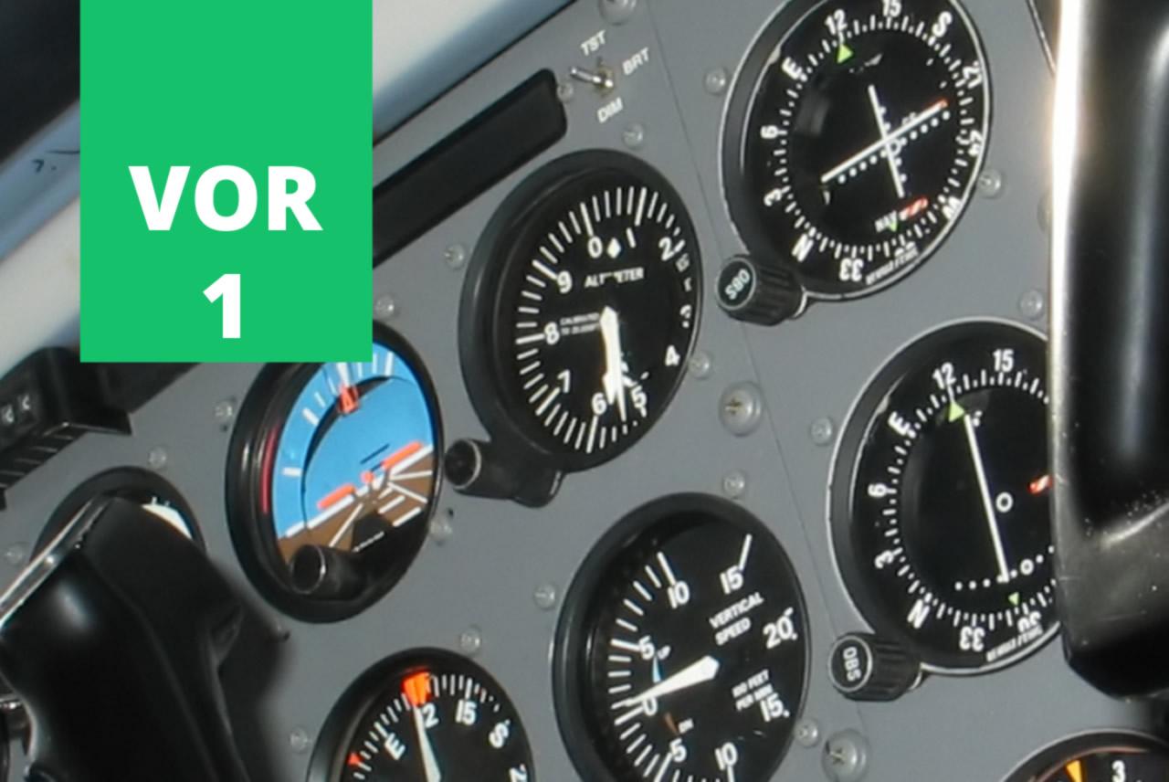 VOR 01 - Exercício do livro Aprendendo a Voar em